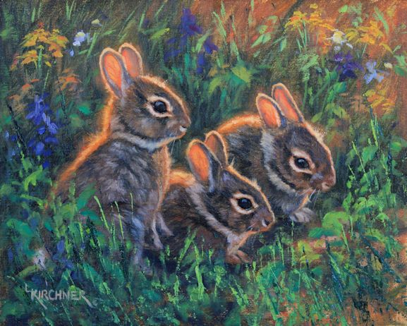 Leslie Kirchnerleslie kirchner art, leslie kirchner artist, nature art, nature artist, western art, western artist, wildlife art, wildlife artist, rabbit painting, rabbit art, wild rabbit art, wild rabbits, baby rabbits, baby rabbit art, baby rabbit painting, baby bunnies, baby bunny art, baby bunny paintings
